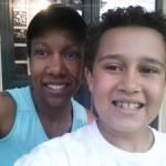 A run with my son