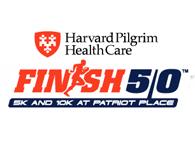 Finish at 50 logo
