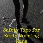 Friday Five – National Running Safety Month