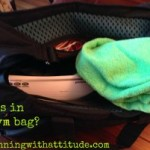 Friday Five – What's in my gym bag