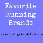 Friday Five: Favorite Running Brands