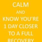 Keep Calm Injury