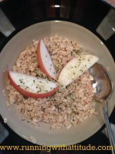 Hemp oatmeal