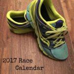 2017 Race Calendar