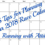 5 tips for planning your 2018 race calendar